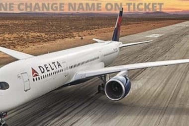 delta airlines change name on ticket